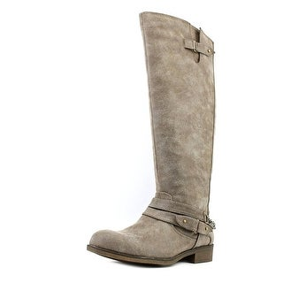 Madden Girl Caanyon Round Toe Synthetic Knee High Boot