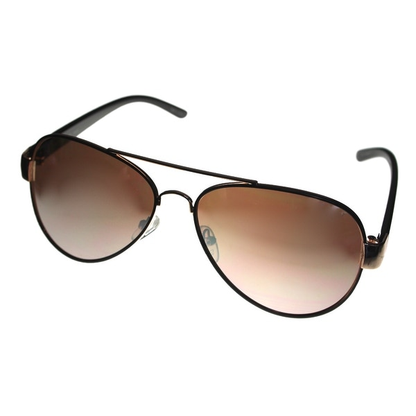 Esprit Sunglass Womens Aviator Metal Gold/Brown Flash Mirror Lens 19444 535