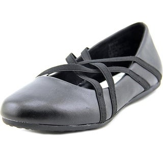 Kenneth Cole NY Rose Bay Round Toe Leather Ballet Flats