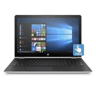 "Refurbished - HP x360 15-BR001CY 15.6"" Touch Laptop Intel Pentium 4415U 2.3GHz 6GB 1TB W10"