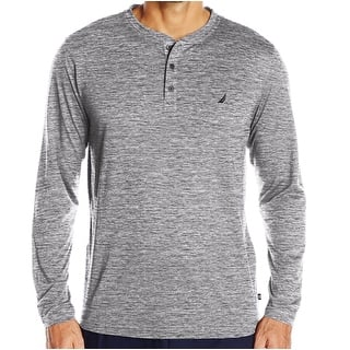 Nautica NEW Gray Heather Mens Size 2XL Long-Sleeve Henley Nightshirt|https://ak1.ostkcdn.com/images/products/is/images/direct/be760e390967e8764e24e55e5a1c6bd84ba2dd7c/Nautica-NEW-Gray-Heather-Mens-Size-2XL-Long-Sleeve-Henley-Nightshirt.jpg?impolicy=medium