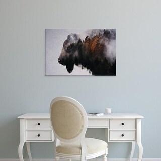 Easy Art Prints Andreas Lie's 'Bison' Premium Canvas Art