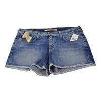 Big Star Women's Remy 1974 Frailed Eco Friendly Size 30 Denim Shorts
