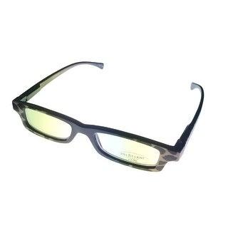 Jill Stuart Reading Womens Glasses JSR1 Demi Amber Plastic Rectangle 2.0 Power - Medium