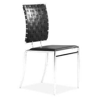 Zuo Modern Criss Cross Dining Chair Criss Cross Dining Chair (Package of 4)