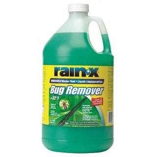 Rainâ'X RX68806 Bug Remover Windshield Washer Fluid, 1-Gallon, +32 Degrees