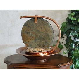 BluWorld Large Moonshadow Slate Tabletop Fountain [Kitchen]