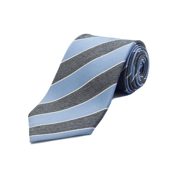 0eb17a6a Ermenegildo Zegna Men's Silk Striped Tie Blue - No Size