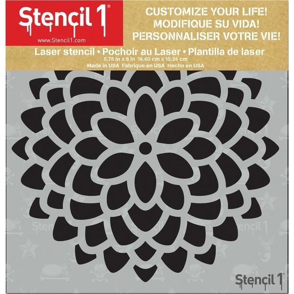 "Stencil1 6""X6"" Stencil-Mum"