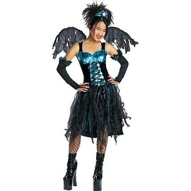 Aqua Fairy Gothic Costume, Large (10-12)