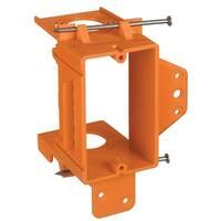 Carlon SC100A Low Voltage Bracket, 1 Gang, Orange