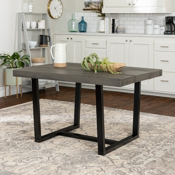 Carbon Loft 52-inch Distressed Wood Dining Table. Opens flyout.