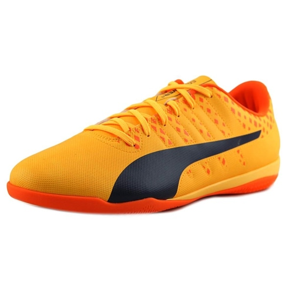 Puma evoPOWER 4 IT Men Round Toe Synthetic Yellow Sneakers