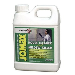 Zinsser 60104 Jomax Concentrated House Cleaner Mildew Remover, 1 Quart