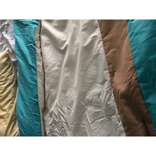 Seaward Blue Embroidery 7-piece Comforter Set