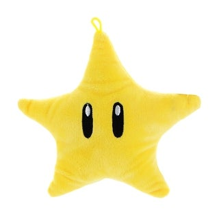 "Nintendo Super Mario Icons 6"" Plush: Super Star - multi"