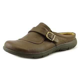 Kim Rogers Edna Women Round Toe Synthetic Brown Clogs