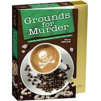 """Jigsaw Shaped Puzzle 1000 Pieces 23""""X29""""-Grounds For Murder"""
