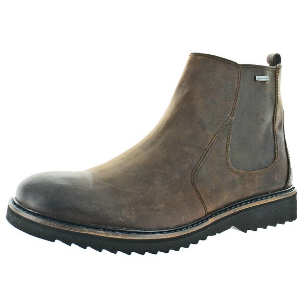 Geox Chester Amphibiox Men's Leather Waterproof Boots