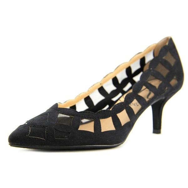J. Renee Winda Black Pumps