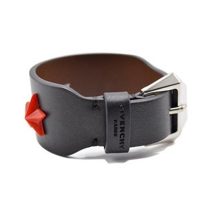 Givenchy Perplex Star Cuff Red and Black Bracelet