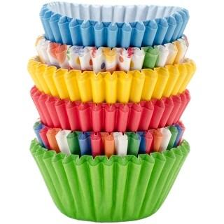 Mini Baking Cups-Multicolor 150/Pkg