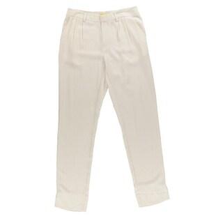 Catherine Malandrino Womens Silk Ankle Dress Pants - 4