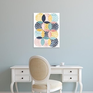 Easy Art Prints Grace Popp's 'Deluge II' Premium Canvas Art