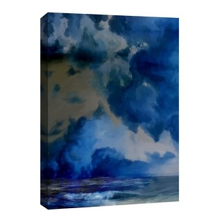 """PTM Images 9-126765  PTM Canvas Collection 8"""" x 10"""" - """"Storm"""" Giclee Waves Art Print on Canvas"""