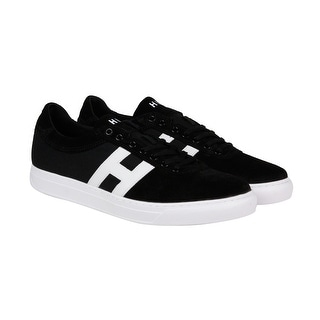 HUF Soto Mens Black Suede Lace Up Lace Up Sneakers Shoes