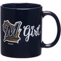Milwaukee Brewers Girl 11oz Mug