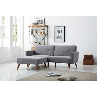Link to Carson Carrington Valten Velvet Upholstery Convertible Sofa Bed Similar Items in Sofas & Couches