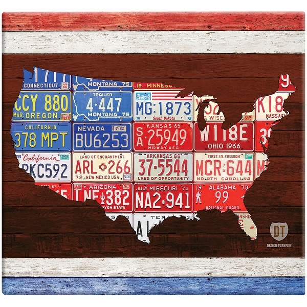 "MBI American License Plate Post Bound Album 12""X12""-License Plates"