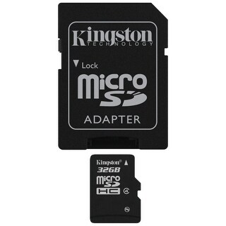 Kingston SDC4/32GB Kingston SDC4/32GB 32 GB microSDHC - Class 4/UHS-I - 1 Card