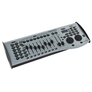 Monoprice Universal DMX-512 Controller 16-Channel, MIDI compatible, Control up to 12 intelligent lights - Stage Right Series