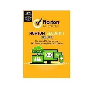 Symantec 21353874 Norton Security Deluxe 3.0 En 1User 5Devices 12Mo Card Mm