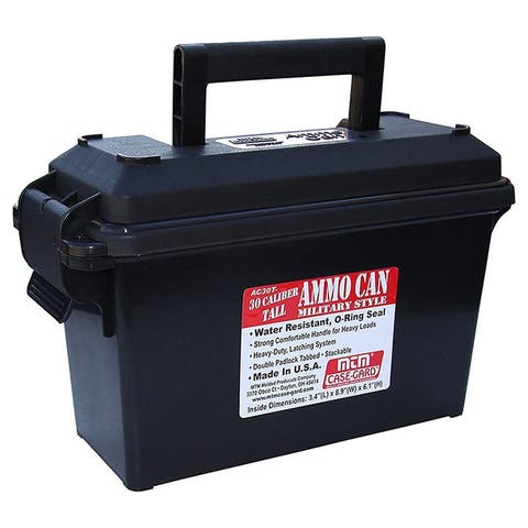 MTM Ammo Can 30 Caliber - Tall Black