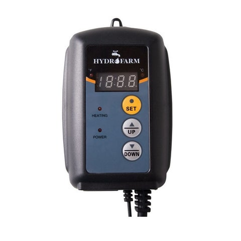 Hydrofarm MTPRTC Digital Temperature Controller For Heat Mat