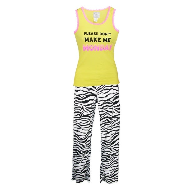 Mentally Exhausted Women's Please Don't Make Me Monday Pajama Set