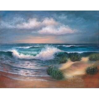 "Acrylic Paint Your Own Masterpiece Kit 11""X14""-Hampton Beach"