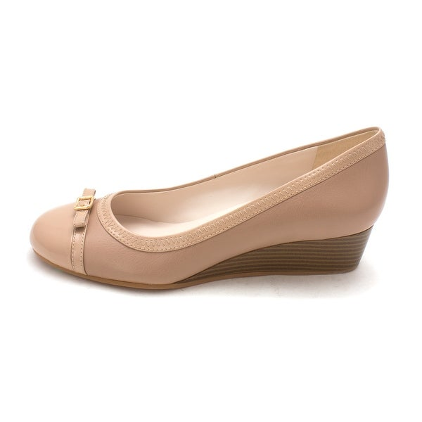 Cole Haan Womens D44244 Closed Toe Wedge Pumps