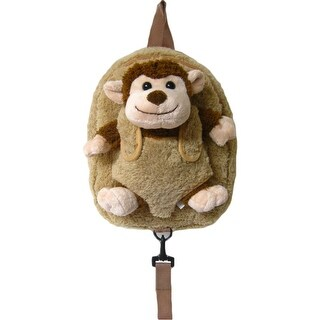 Kreative Kids Unisex Brown Monkey Safety Harness Leash Backpack