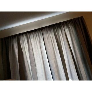 Barricade Adjustable Energy Saving Wraparound Curtain Rod 96 to ...