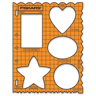 """Shape Template 8.5""""X11""""-Shapes"""