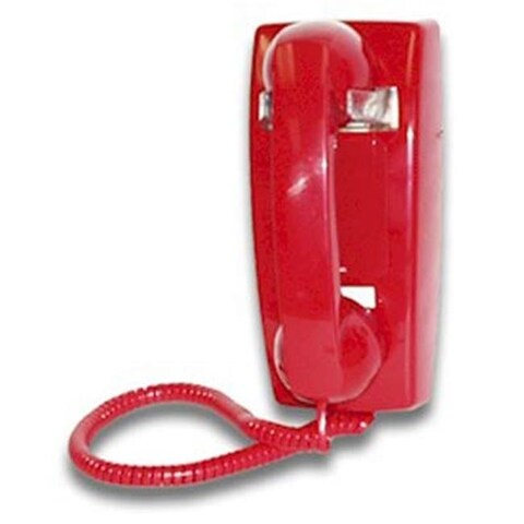 Viking Electronics K-1900-W2-RED Hot Line Phone