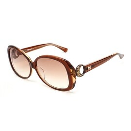 Missoni Women's Oversized Groovy Sunglasses Brown - Small
