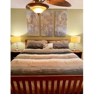 Carson Carrington Jutland Taupe Complete Comforter and Cotton Sheet Set