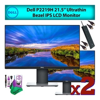 "Link to Dell 22"" (P2219H) Ultrathin IPS LCD Computer Monitor (2-Pack) Deluxe Similar Items in Monitors"
