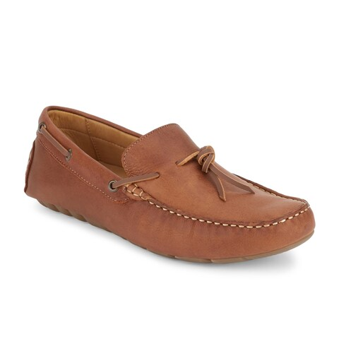 Lucky Brand Mens Wagner Leather Driver Loafer Shoe
