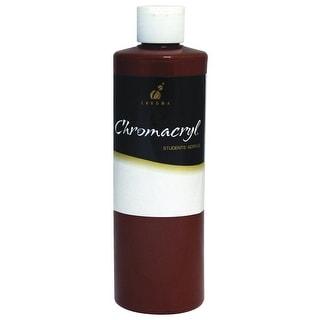 Chromacryl Premium Students Acrylic Paint, 1 pt Bottle, Burnt Sienna